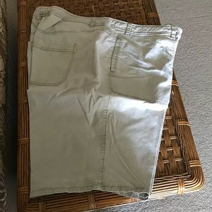 Like new tan shorts from lane Bryan